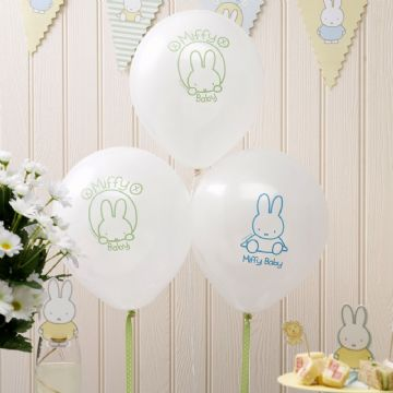 Baby Miffy Balloons - pack of 8